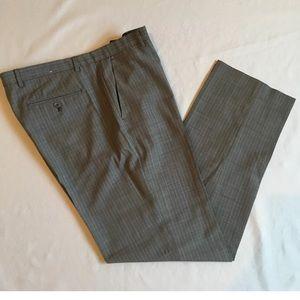 Calvin Klein Dress Pants 34x32 flat front grey